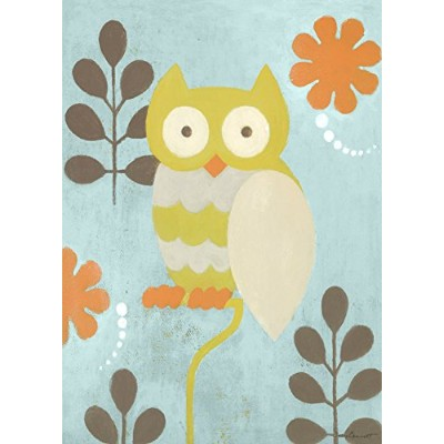 Oopsy Daisy Hootie Owl by Sally Bennett Canvas Wall Art, 10 by 14-Inch by Oopsy Daisy