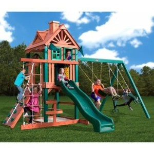 Infant Swing in Pink by Gorilla Playset Accessories