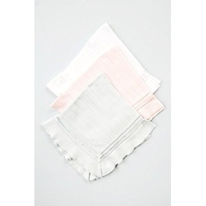 Boutique Collection Unisex Baby receiving Blanket One Size White by Boutique Collection
