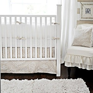 New Arrivals 3 Piece Crib Set, Pebble Moon by New Arrivals