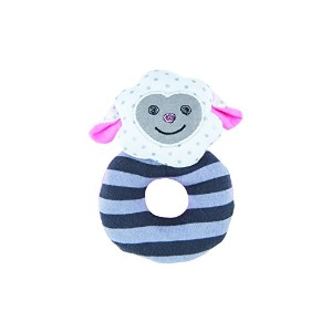 Organic Farm Buddies, Dreamy Sheep Teething Rattle by Organic Farm Buddies