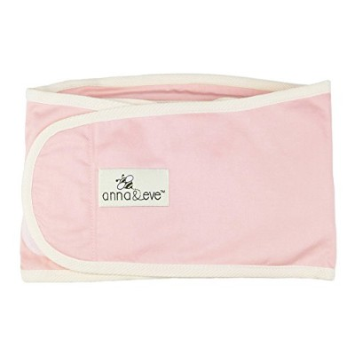 Anna & Eve Swaddle Strap Arms Only Baby Swaddle, Pink, Large by Anna & Eve