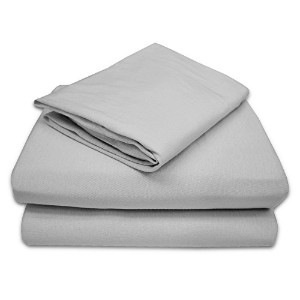 TL Care 100% Jersey Cotton 3 Piece Toddler Sheet Set, Gray by TL Care