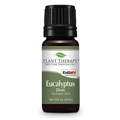Plant Therapy Eucalyptus Dives (Peppermint) Essential Oil 10 mL (1/3 oz) 100% Pure, Undiluted,...