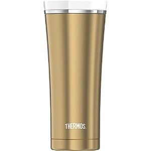 Thermos Sipp 16 Ounce Stainless Steel Vacuum Insulated Travel Tumbler, Gold [並行輸入品]