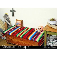 RUG&PIECE Mexican Serape made in mexcico ネイティブ メキシカン サラペ メキシコ製(rug-5723)