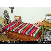 RUG&PIECE Mexican Serape made in mexcico ネイティブ メキシカン サラペ メキシコ製(rug-5718)