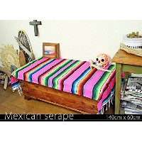RUG&PIECE Mexican Serape made in mexcico ネイティブ メキシカン サラペ メキシコ製(rug-5721)