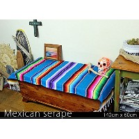 RUG&PIECE Mexican Serape made in mexcico ネイティブ メキシカン サラペ メキシコ製(rug-5709)