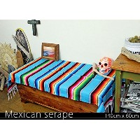RUG&PIECE Mexican Serape made in mexcico ネイティブ メキシカン サラペ メキシコ製(rug-5719)
