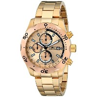 インヴィクタ Invicta Men's 17753 Specialty Analog Display Japanese Quartz Gold Watch [並行輸入品]