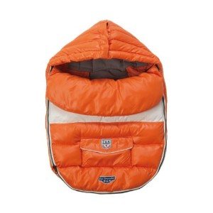 7A.M. ENFANT Baby Shield ベビーカーフットマフ Orange Peel 6-18M