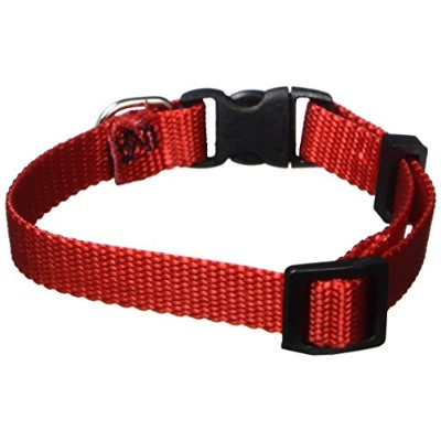 Majestic Pet 788995411055 8-12 in. Adjustable Collar Red