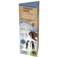 海外直送品Endangered Species Eco 3D Bath Puzzle, Arctic 1 KIT by Health Science Labs