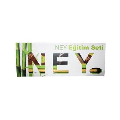 Turkish Plastic Ney Nay Flute + Dvd + Book + Cd (English German French)