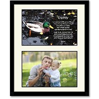 Daddy Birthday or Christmas Gift - Sweet Poem From Daughter or Son - Add Photos by Poetry Gifts