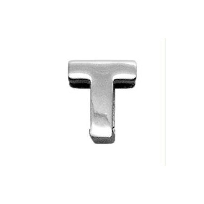 """3/8"""" (10mm) Chrome Plated Charms T 3/8"""" (10mm)"""