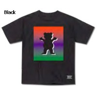 【GRIZZLY】グリズリー2017春夏 Poster OG Bear Logo Cubs Tee キッズ 半袖Tシャツ TEE ティーシャツ ボーイズ スケートボード Black S