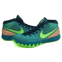 Nike IRVING(ナイキ アービング) カイリー 1 KYRIE 1 (Teal/Green Strike/Radiant Emerald/Metallic Red) - US10.5(28...