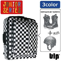 BOOTS & MET BACKPACK JR B383 (SCT.BLU, ONE SIZE)