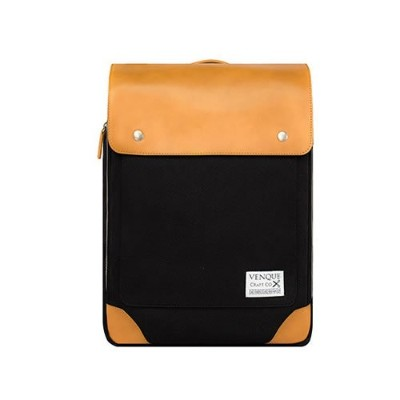 VENQUE (ヴェンク) バックパック リュックサック Flatsquare Backpack MINI - 6カラー展開 国内正規取扱店 1年間製品保証付き Brown