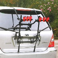 MVPower 3-Bike Trunk Mount Rack, Folding Hitch Mounted Car Bicycle Carrier Hitch Mount Rack by...