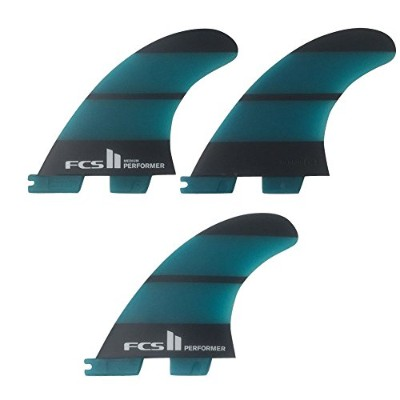FCS2 PERFOMER MEDIUM Neo Glass THRUSTER 3FINS ハイパフォーマンスフィン/ショートボード サーフィン