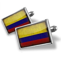 国旗コロンビアCufflinks with a vintage look – Neonblond