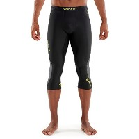 SkinsメンズDnamic Thermal 3/ 4Compression Tights S ブラック