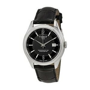 ティソ Tissot 腕時計 メンズ 時計 Tissot T-Classic Ballade Automatic Black Dial Mens Watch T108.408.16.057.00