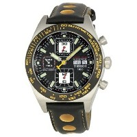 ティソ Tissot 腕時計 メンズ 時計 Tissot Men's T91142781 PRS 516 Tachymeter Watch