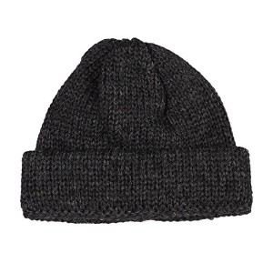 (ハイランド2000) HIGHLAND 2000 SB TUBULAR BOBBY CAP BRITISH WOOL - CHARCOAL ONESIZE
