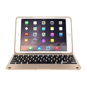 ClamCase PRO Keyboard Case for iPad Mini, 1, 2, 3 (Siiver/Gold)?