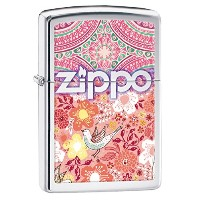 Zippo BOHO 4 Flowers and Birds 28851