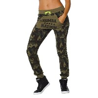 Zumba (ズンバ) Nation Jogger Sweetpants [並行輸入品] Army Green (M)