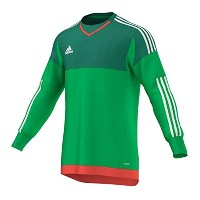Adidas Onore Top 15 Goalkeeper Jersey -Green (Youth)/サッカー ゴールキーパージャージー Onore Top 15 ジュニア向け (Y-Large)