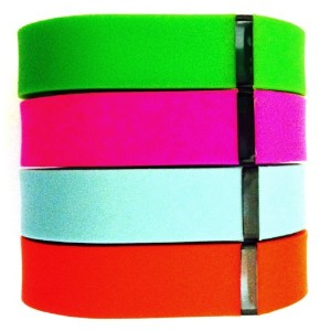 ! Small S 1pc Teal (Blue/Grey) 1pc Purple / Pink 1pc Red (Tangerine) 1pc Green Replacement Bands +...