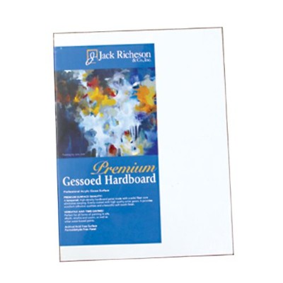 Jack Richeson 1/8-Inch Premium Tempered Gessoed Hardboard Panel, 11 by 14-Inch by Jack Richeson