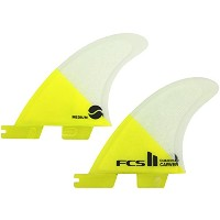 FCS2 FIN CARVER - PC QUAD REAR(CARVER(PC)QR,MEDIUM(65-80kg))