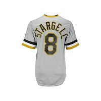 Majestic AthleticメンズPittsburgh Pirates Willie Stargell Cooperstown Jersey Sm