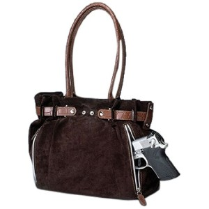 GTMガンTote ' n Mamas Concealed Carry Legacyバッグ、ココアブラウン、スモール