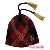 BURTON GRIFFIN BEANIE RED PLAID バートン ビーニー