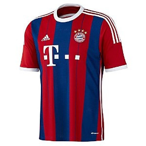 Adidas Bayern München 2014-15 Official Home Soccer Jersey YOUTH/サッカーユニフォーム バイエルン・ミュンヘン ホーム用 2014-15...