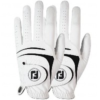 NEW FootJoy WeatherSof 2-pk Men's Golf Gloves Value Pack - Left (Left Hand) MD-LG [並行輸入品]