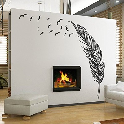 NEW Wall Sticker Vinyl Birds Flying Feather Bedroom Home Decal Mural Art Decor Wall Stickers Best...