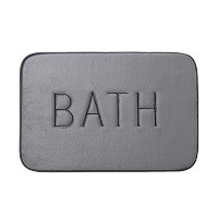 Zhhlaixing 高品質の 4 Colors Memory Cotton Carpet Home Bathroom Anti-slide Absorbent Floor Mat