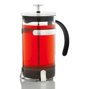 GROSCHE York Glass French Press Coffee and Tea Maker - 1000ml / 34 fl. Oz / 8 cup (3 Coffee Mugs)...