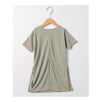 58%OFF CIAOPANIC TYPY[キッズ] (チャオパニックティピー[キッズ]) キッズスリットTee カーキ 105 115 125