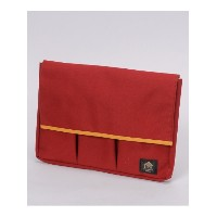 40%OFF iENT (イエント) レディース 12inchノートPC&A4 ガジェットケース RED/YELLOW F