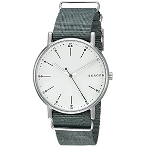 Skagen Signatur NATO Watch One Size Green(green)